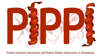 Logo of PIPPI – Protein-excipient Interactions and Protein-Protein Interactions in formulation